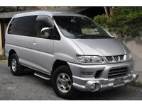 Mitsubishi Delica direct Japan Import supplied fully UK reg. More enroute contact Algys Autos