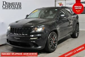 Jeep Grand Cherokee srt8 6.4l +toit+gps+4wd+cuir+jamais accident