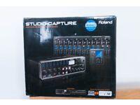 Roland Studio Capture audio interface Mint Boxed