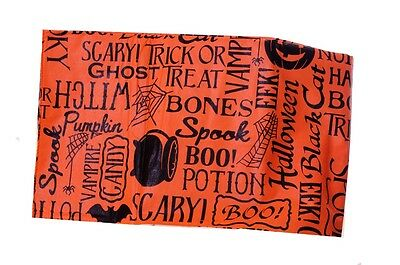 Black Orange Scary Pumpkin Halloween Cat Vinyl Tablecloth Table Cloth 52x 70 NEW](Orange Table Cloth)