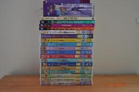 Complete collection of Hannah Montana DVDs