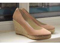cheap wedges shoes heels size 36 good condition