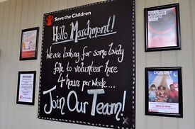 Volunteer in Marchmont Road! Save the Children!