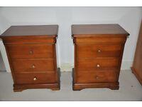 Bedside drawer units X 2