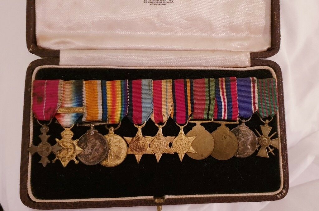 MILITARY MBE GROUP OF 11 MINIATURE MEDALS | in Biddulph, Staffordshire |  Gumtree
