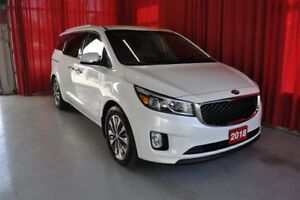 2018 Kia Sedona SX+ WITH APPLE CAR PLAY AND ANDROID!