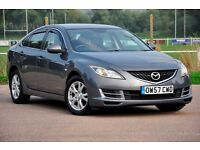 2008 Mazda6 2.0 TD TS 5dr+FREE WARRANTY+READY TO DRIVE AWAY TODAY, 12 MONTHS MOT+SERVICE HISTORY