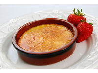 Classic Tapas/ Creme Brulee Dish 10cm - Oven Proof Terracotta Dish for Sharing Dishes