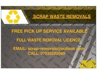 Free collection scrap metal