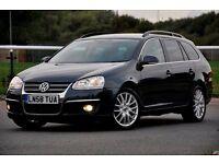 2008 Volkswagen Golf 2.0 TDI CR Sportline DSG 5dr+DIESEL+AUTOMATIC+SHIFT PEDALS+FSH+12 MONTHS MOT