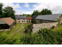 Devon, Widecombe: beautiful character Dartmoor holiday cottage in centre of moor