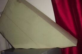 """LARGE PIECE OF THICK FOAM IN GOOD CONDITION LENGTH 37"""" THICKNESS 12"""""""
