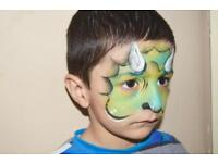 Professional Children's Face Painting for parties christening and commercial events face painter