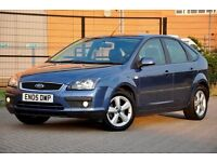 2005 Ford Focus 1.6 Zetec Climate 5dr+FREE WARRANTY+LONG MOT+JUST SERVICED+FULL SERVICE HISTORY
