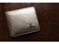 Vivienne Westwood Golden Leather Wallet