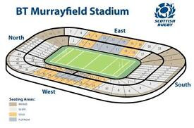 Platinum ticket for Scotland vs Ireland at The Six Nations