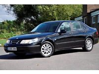 2005 Saab 9-5 2.3 T Linear 4dr+1 OWNER FROM NEW+FULL SERVICE HISTORY+VERY LOW GENIUNE MILEAGE