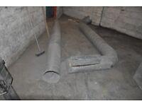 300mm Spiral Ducting (5 meters) - plus bends