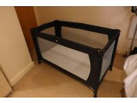 Babyway Travel cot and mattress and a carry bag