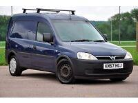 2007 Vauxhall Combo 1.7 TD DIESEL 1700 Panel Van+JUST SERVICED+NO VAT+VERY SPACIOUS