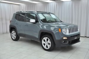 2017 Jeep Renegade LIMITED 4x4 SUV w/ BLUETOOTH, HEATED LEATHER