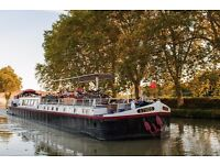 Housekeeper / Driver needed for hotel barge in Southwestern France