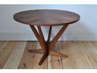Vintage 60's Danish Teak Coffee Side Table (model 92 ) by Georg Jensen for Kubus