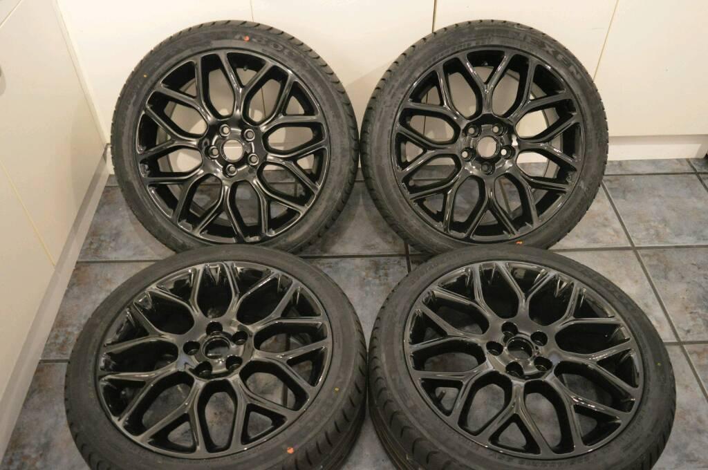 Mk3 Ford Focus Zetec S Gloss Black 18 Quot Alloy Wheels
