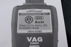 Audi/VW car diagnostics code reader.