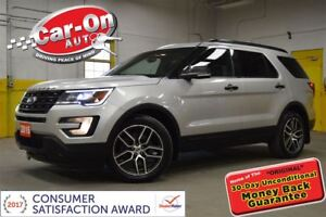 2016 Ford Explorer Sport 7 PASS AWD LEATHER SUNROOF NAV REMOTE S