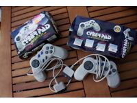 FURTHER REDUCED - PS1 Cyber Control Pad x 2