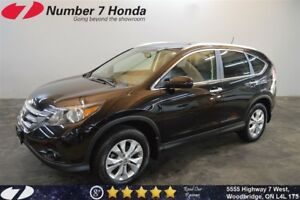 2012 Honda CR-V Touring| Loaded, Leather, Navi!
