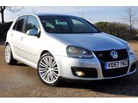 2007 Volkswagen Golf 2.0 TDI DPF GT Sport 5dr+DIESEL+R 32 STYLE ALLOYS+LEATHER+WARRANTY+LONG MOT