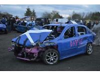 Scrap cars and vans wanted for banger raceing