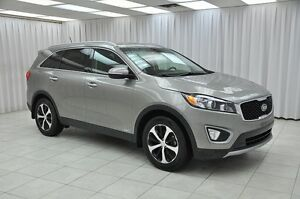 2016 Kia Sorento EX V6 7PASS AWD SUV w/ BLUETOOTH, HEATED LEATHE