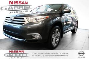 2012 Toyota Highlander 4WD LEATHER  NO ACCIDENT/ONE OWNER/4WD/LE