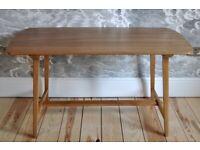 Vintage retro 60's Ercol ercol rectangular Windsor Utility Dining Table CC41