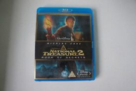 Reduced - National Treasure 2 -Book of Secrets Blue Ray DVD
