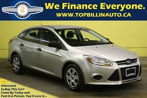 2013 Ford Focus Only 52K, Car Loans for Everyone! 5 Speed