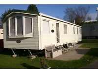 luxury 6 berth static caravan on 5* holiday park in poole Dorset to let