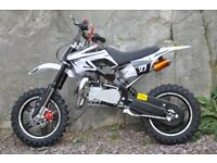BRAND NEW PIT Dirt bike 2017 Mini ATV Motor Bike Scrambler 49cc Pocket Quad 50cc 2 stroke moto