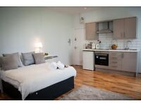 City Centre & Piccadilly Gardens - New Stunning Large Studio Apt - £375 pw serviced