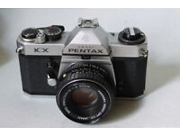 pentax kx 35mm analog slr film camera pentax k1000
