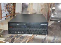 Lenovo ThinkCentre M58, Core 2 Duo, 160GB HDD, 4GB RAM Win 10 Pro