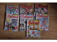 RELOVED magazine 7 issues - check out the description