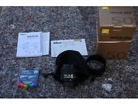 Nikon 50mm AF-S F/1.8G IMACULATE!! used twice!!