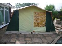 FRAME TENT - 6 PERSONS BY EUROLEASURE