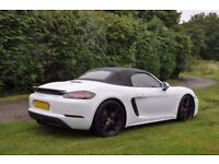 Pristine Porsche 718 Boxster S convertible with £8000 of extras making an amazing spec!!