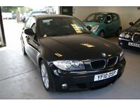 BMW 1 Series 5dr (black) 2010