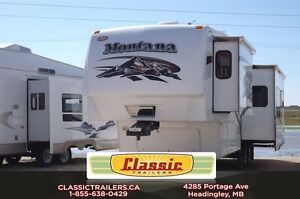2008 Montana 2980RL Awesome couples coach! Lots of options!